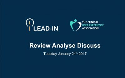 Event Review RAD Session January 2017